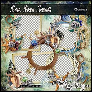 Sea Sun Sand Clusters