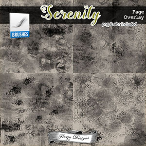 Serenity { Page Overlay PU } by Florju Designs