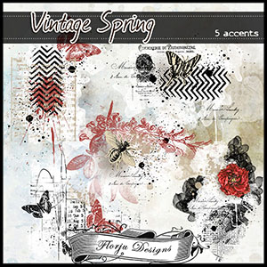 Vintage Spring { Accents PU } Florju Designs