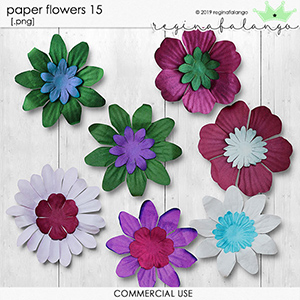 PAPERS FLOWERS 15