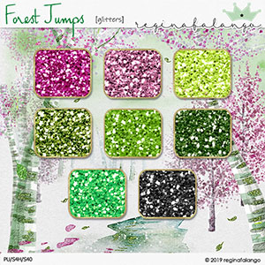 FOREST JUMPS GLITTERS