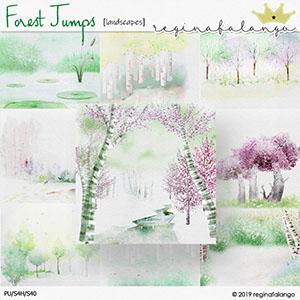 FOREST JUMPS LANDSCAPES