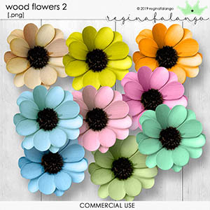 WOOD FLOWERS 2