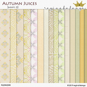 AUTUMN JUICES PAPERS 2