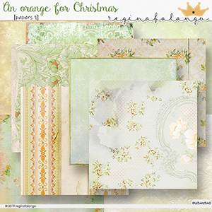 AN ORANGE FOR CHRISTMAS PAPERS 1