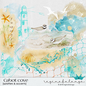 CABOT COVE SPLATTERS & ACCENTS
