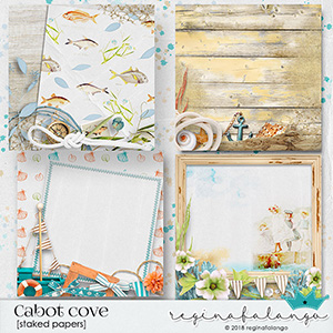 CABOT COVE STAKED PAPERS