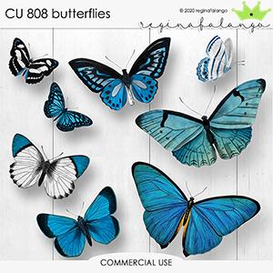 CU 808 BUTTERFLIES