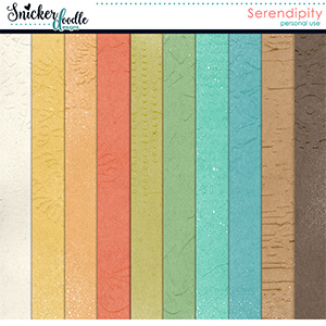 Serendipity Gesso Paper Pack
