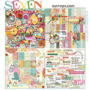 Seven :: Oscraps Collaborative Kit