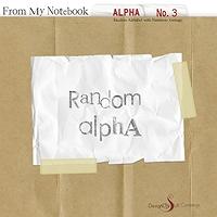 Random Alpha No. 3