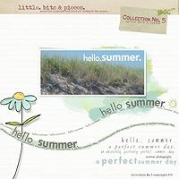 Little Bits & Pieces No. 5 {Hello Summer}