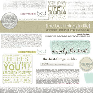 Journaled No 1 - Best Things in LIFE