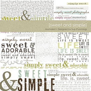 Journaled no 2 {Sweet and Simple}