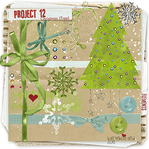 PROJECT 12: Christmas {Tree} Elements