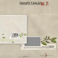 Simply Quick No. 21 {Happy}