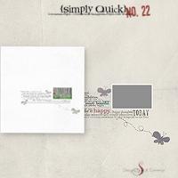 Simply Quick No. 22 {Happy}