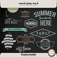 Word Play No. 4