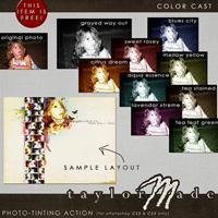 Color Cast Photoshop Action - FREEBIE!!