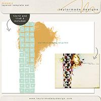 mosaic template set - FREEBIE!!