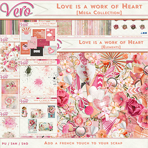 Love is a work of heart - MEGA Collection
