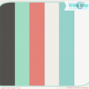 Aspire Solids Papers Pack
