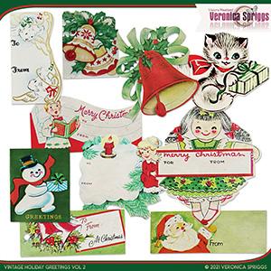 Vintage Holiday Greetings Vol 02