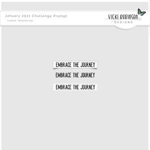July 2021 Challenge Freebie by Vicki Robinson