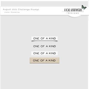 August 2021 Challenge Freebie by Vicki Robinson
