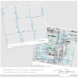 Designers Toolbox:  Newsprint