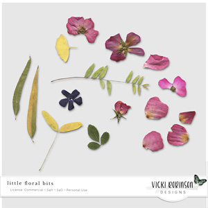 Little Floral Bits by Vicki Robinson