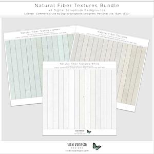 Natural Fibers Textures Bundle
