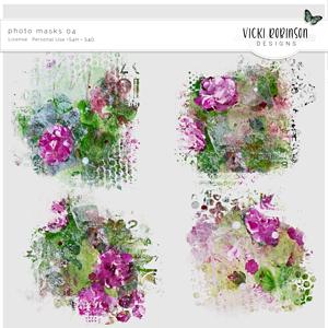 Photo Masks 04 by Vicki Robinson