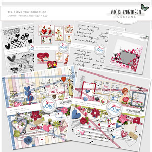 PS I love You Collection by Vicki Robinson