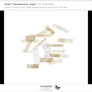 Semi-Transparent Tape