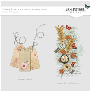 Spring Breeze and Autumn Breeze Gifts by Vicki Robinson