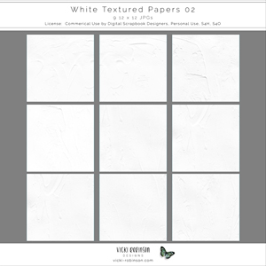 Textured White Papers 02