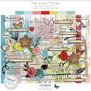 The Little Things Kit by Vicki Robinson