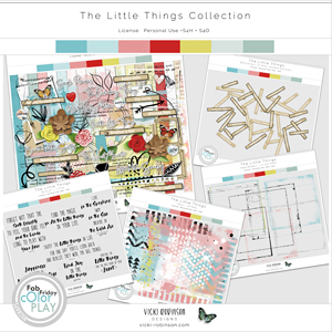 The Little Things Collection by Vicki Robinson
