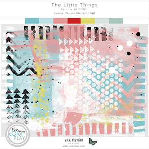 The Little Things Paint by Vicki Robinson