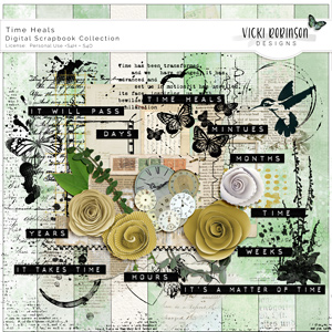 Time Heals Collection by Vicki Robinson Designs