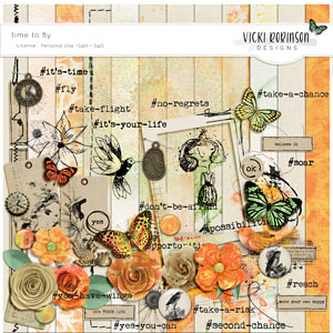 Time To Fly Kit by Vicki Robinson