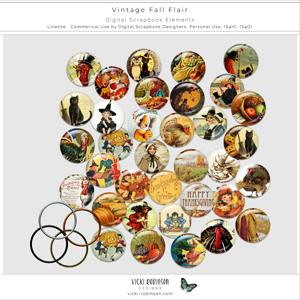 Vintage Fall Flair CU