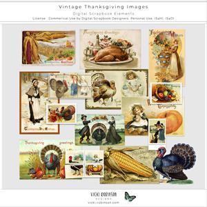 Vintage Thanksgiving Images