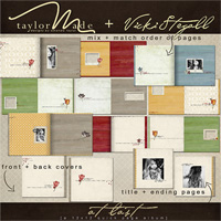 At Last Quick Page Album by Vicki Stegall + TaylorMade