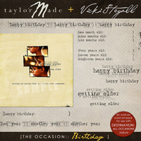 [The Occasion:: BIRTHDAY] Word Art by Vicki Stegall + TaylorMade