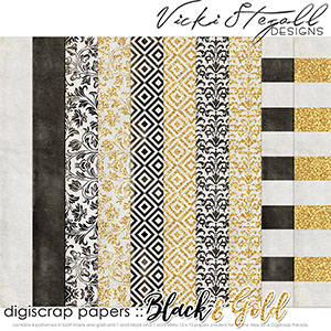 Black and Gold Papers
