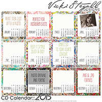 2015 CD Calendar
