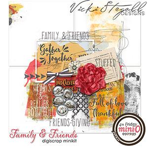 Family and Friends mini O kit