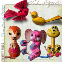 Favorite Finds {Paper Mache Cuties}